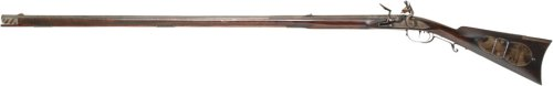 Left-handed Virginia rifle, .32 cal.